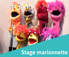 Stage-marionnette